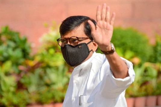 File photo of Shiv Sena's Rajya Sabha MP Sanjay Raut.