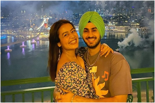 The couple during their honeymoon. (Image courtesy: Instagram)