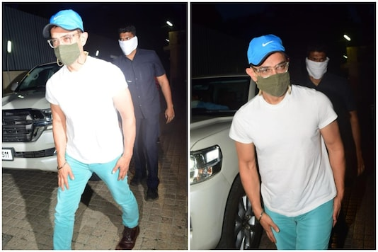 Aamir Khan at PVR Juhu.