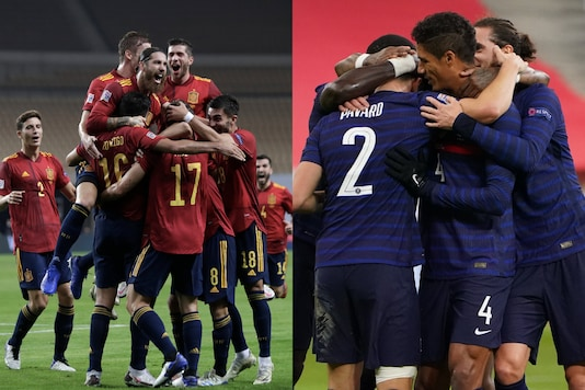 Spain and France (Photo Credit: Twitter)
