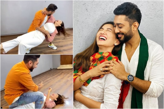 Zaid Darbar Reveals How Gauahar Khan and He 'Literally Fell in' Love, Watch Funny Video