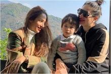 Malaika Arora Soaks in the Dharamshala Sun with Kareena Kapoor and Taimur Ali Khan