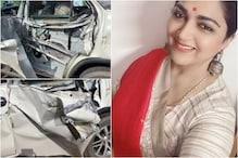 Khushbu Sundar Escapes Unhurt After Her Car was Hit by Tanker, Actress Shares Pics of Rammed Vehicle