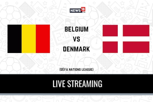 UEFA Nations League: Belgium vs Denmark
