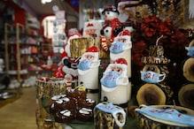 Greek Man Masks up Santa Claus, Snowman Candles to Spread Awareness Amid Covid Surge