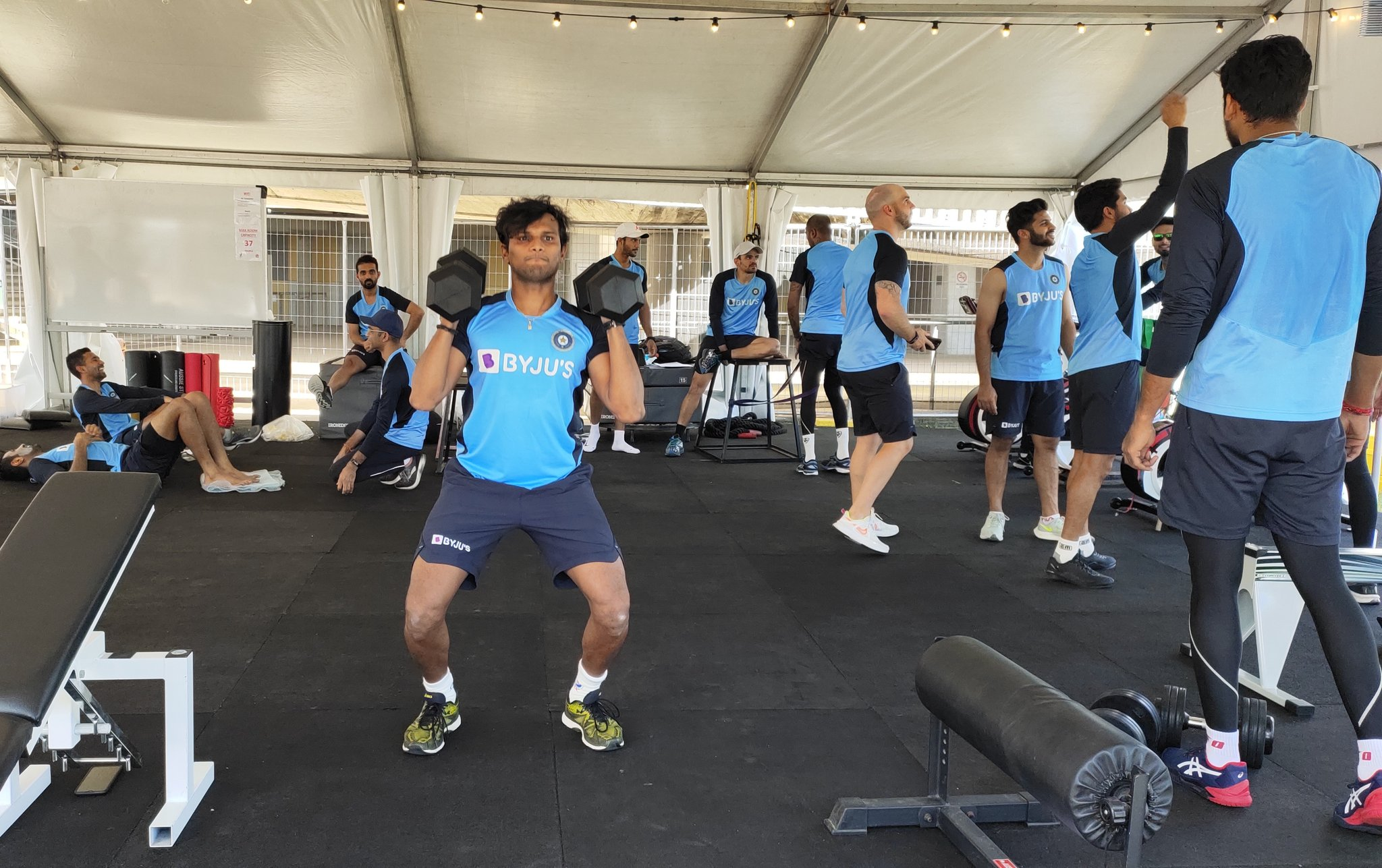 India vs Australia 2020, In Pics, Team India Sweats it Out in Practice Session