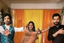 'Crazy Fans' Surbhi Chandna, Sharad Malhotra and Mohit Sehgal Dance to Hrithik Roshan's Song