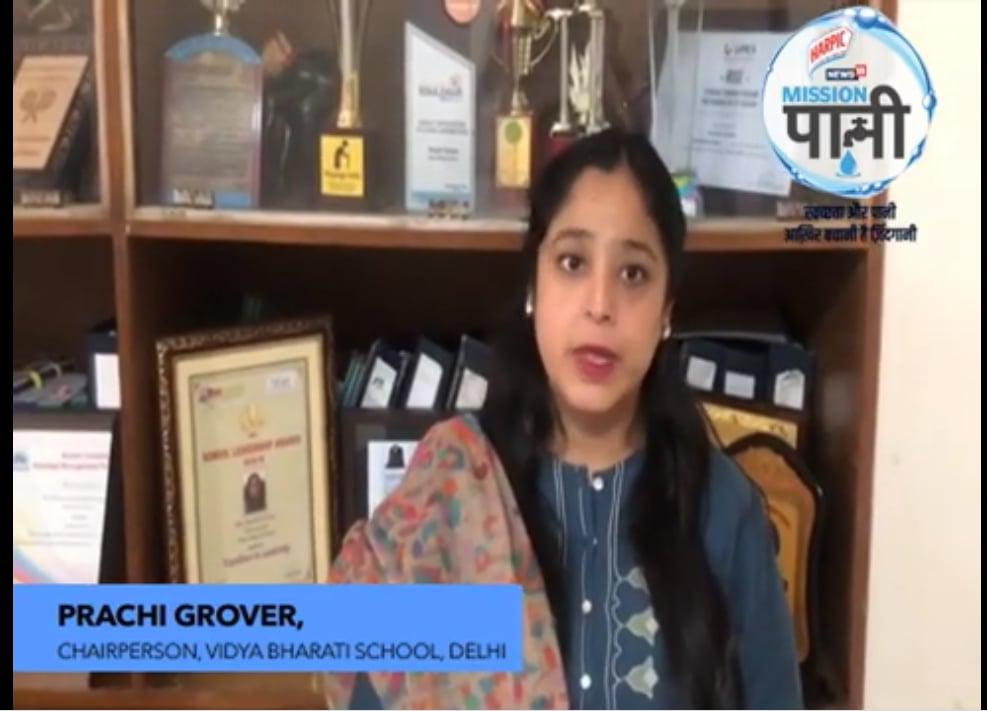 PRACHI GROVER, CHAIRPERSON, VIDYA BHARATI SCHOOL, DELHI