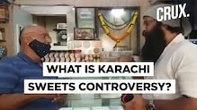 Shiv Sena Leader Asks Mumbai Karachi Sweets' Owner To Change The Shop's Name In Viral Video