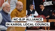 Part Of 'Gupkar Gang', Farooq Abdullah-Led NC Is BJP's Ally In Kargil | CRUX