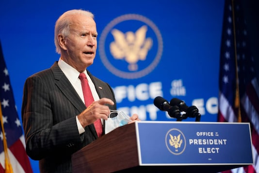 US President-elect Joe Biden. (AP Photo)