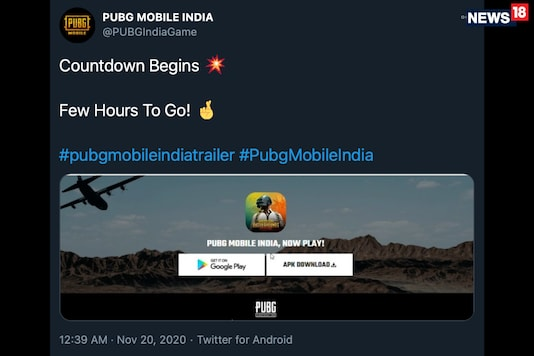 A tweet by PUBG Mobile India indicates that the game will be released for Android phones, soon enough.