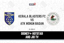 ISL 2020-21: How to Watch Kerala Blasters FC vs ATK Mohun Bagan Today's Match on Disney+ Hotstar, JioTV Online