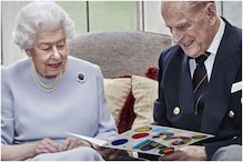 Queen Elizabeth and Prince Philip Celebrate 73rd Anniversary with Handmade Card Made by Grandkids