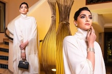 In Pics: Sonam Kapoor Ahuja Dazzles in Head-to-toe White Ensemble