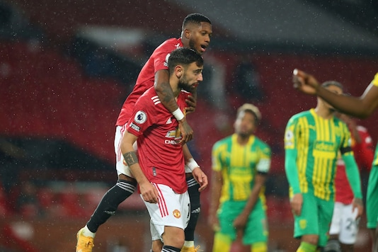 Bruno Fernandes gave Manchester United a home win. (Photo Credit: AP)