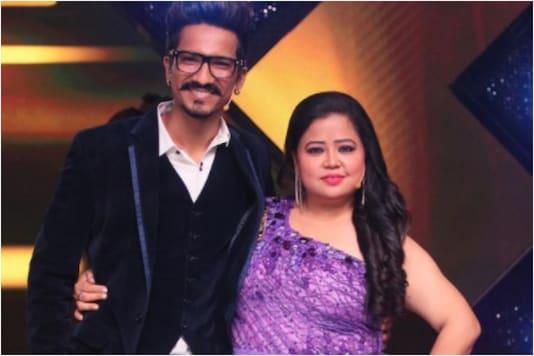 Haarsh Limbachiyaa and Bharti Singh