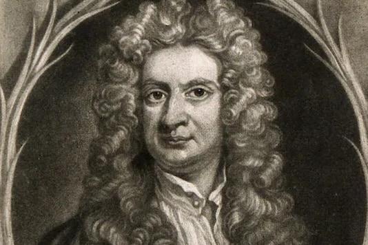 File image of Isaac Newton.