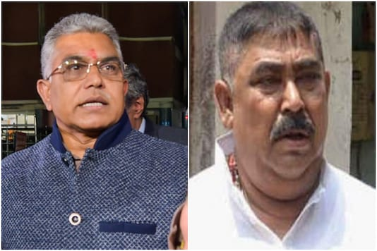BJP Bengal Chief Dilip Ghosh, TMC leader Anubrata Mondal