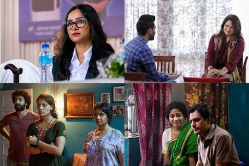Shweta Basu Prasad, Ayesha Raza, Amruta Subhash and Indira Tiwari on their Netflix Films