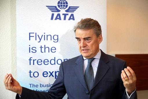 IATA Director General Alexandre de Juniac
