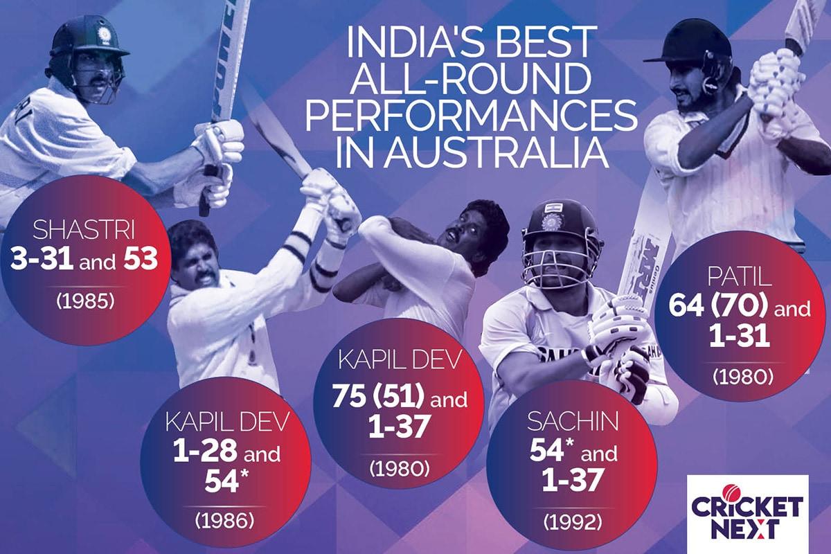 India vs Australia: From Ravi Shastri to Sachin Tendulkar - The Best All-Round Performances in Australia