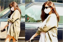 In Pics: Mom-to-be Anushka Sharma Aces Casual Maternity Look as she Continues to Shoot