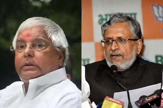Lalu Prasad and Sushil Kumar Modi