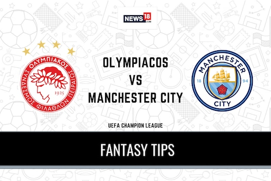 UEFA Champions League: Olympiacos vs Manchester City