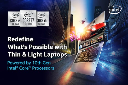The Power of 10 - A New Class of Intel-Powered Thin & Light Laptops