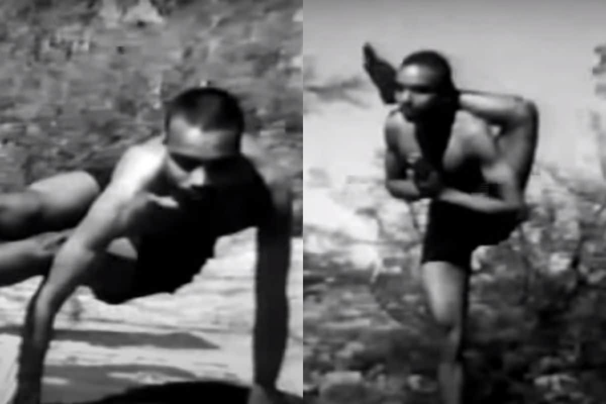 A Video of BKS Iyengar Performing Yoga is Going Viral as PM Modi's 'Rare' Clip