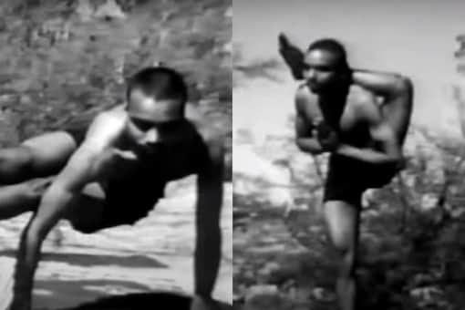 Screengrab from the original video that was shot in 1938 and posted on youtube in 2006. (Credit: Youtube)