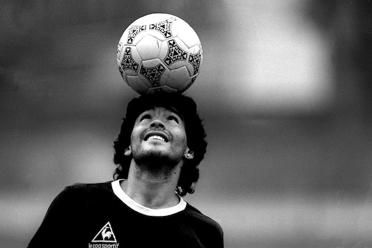 Argentine football legend Diego Maradona passes away (Photo Credit: AFP)