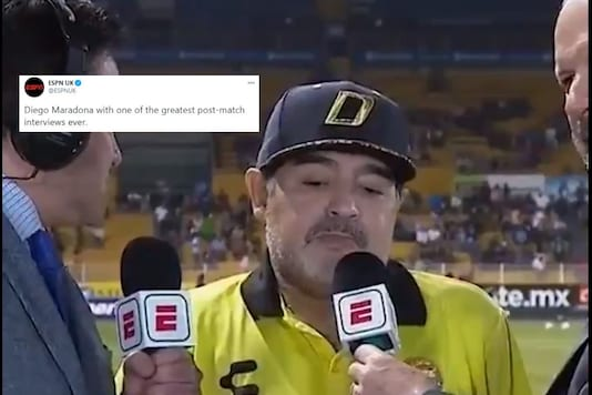 Maradona Had Several Interviews, But His 2018 'Brain Fade' Moment Remains Internet's Favorite