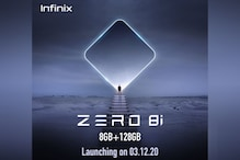 Infinix Zero 8i With Dual Front Cameras, 4,500mAh Battery to Launch in India on December 3