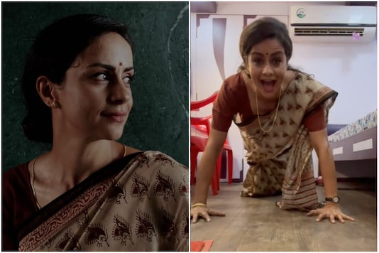 Gul Panag Does Push-ups in Saree Like a Boss, Fans Call Her 'Wonder Woman'