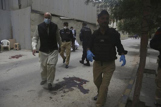 Representative image of Pakistani police.