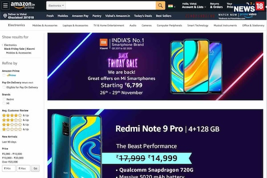 Black Friday Sale: Amazon Has Some Cool Smartphone Deals With Xiaomi, OnePlus And Samsung