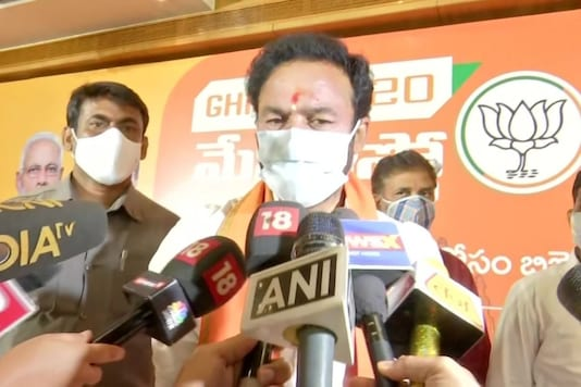"""Minister of State for Home Affairs G Kishan Reddy at a rally in Hyderabad on Friday reiterated BJP's rhetoric against the Rohingya community here in the run up to the civic polls, saying the police was """"regularly monitoring"""" them."""