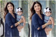 Netizens Can't Stop Gushing Over Shilpa Shetty Kundra's Daughter Samisha's 'Aww-dorable' Pics