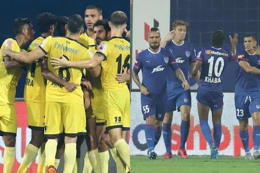 Bengaluru FC and Hyderabad FC (Photo Credit: ISL)