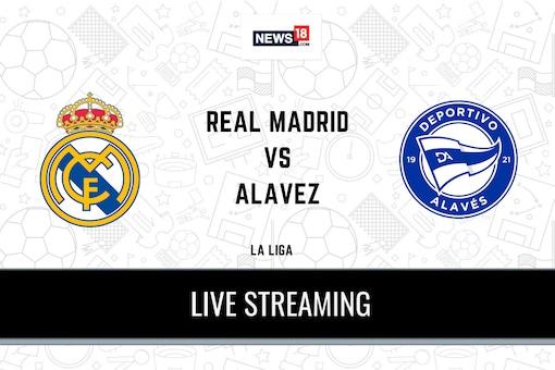 La Liga: Real Madrid vs Deportivo Alaves