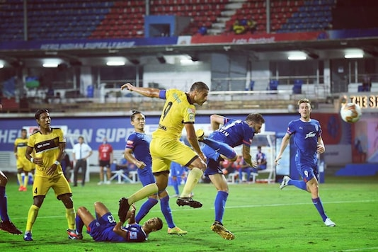 Hyderabad FC were on top but settled for a point against Bengaluru FC. (Photo Credit: Hyderabad FC Instagram)
