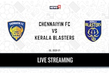 ISL2020-21 Chennaiyin FC vs Kerala BlastersLiveStreaming: When and Where to WatchLiveTelecast, Timings in India, Team News