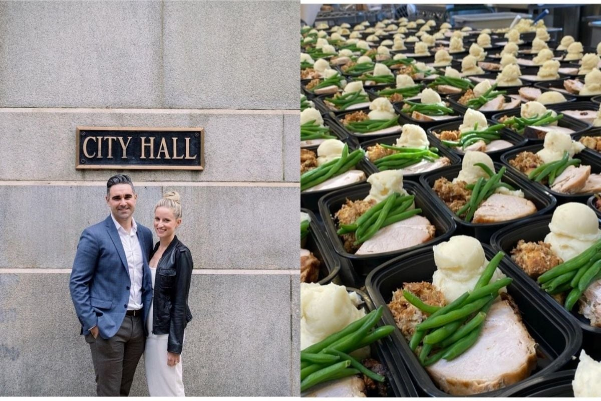 US Couple Cancel Lavish Wedding Plans, Use Catering Deposit to Feed the Hungry on Thanksgiving