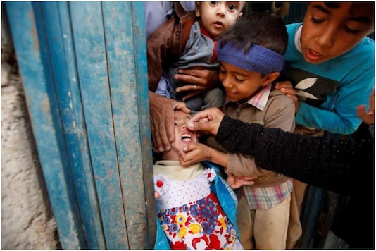 Polio campaign | Image credit: Reuters (Representational)
