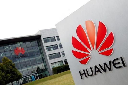 Huawei logo. (Image Credit: Reuters)