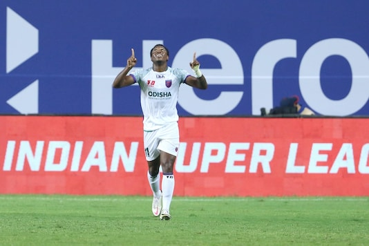 Diego Mauricio scored two for Odisha FC. (Photo Credit: ISL Media)