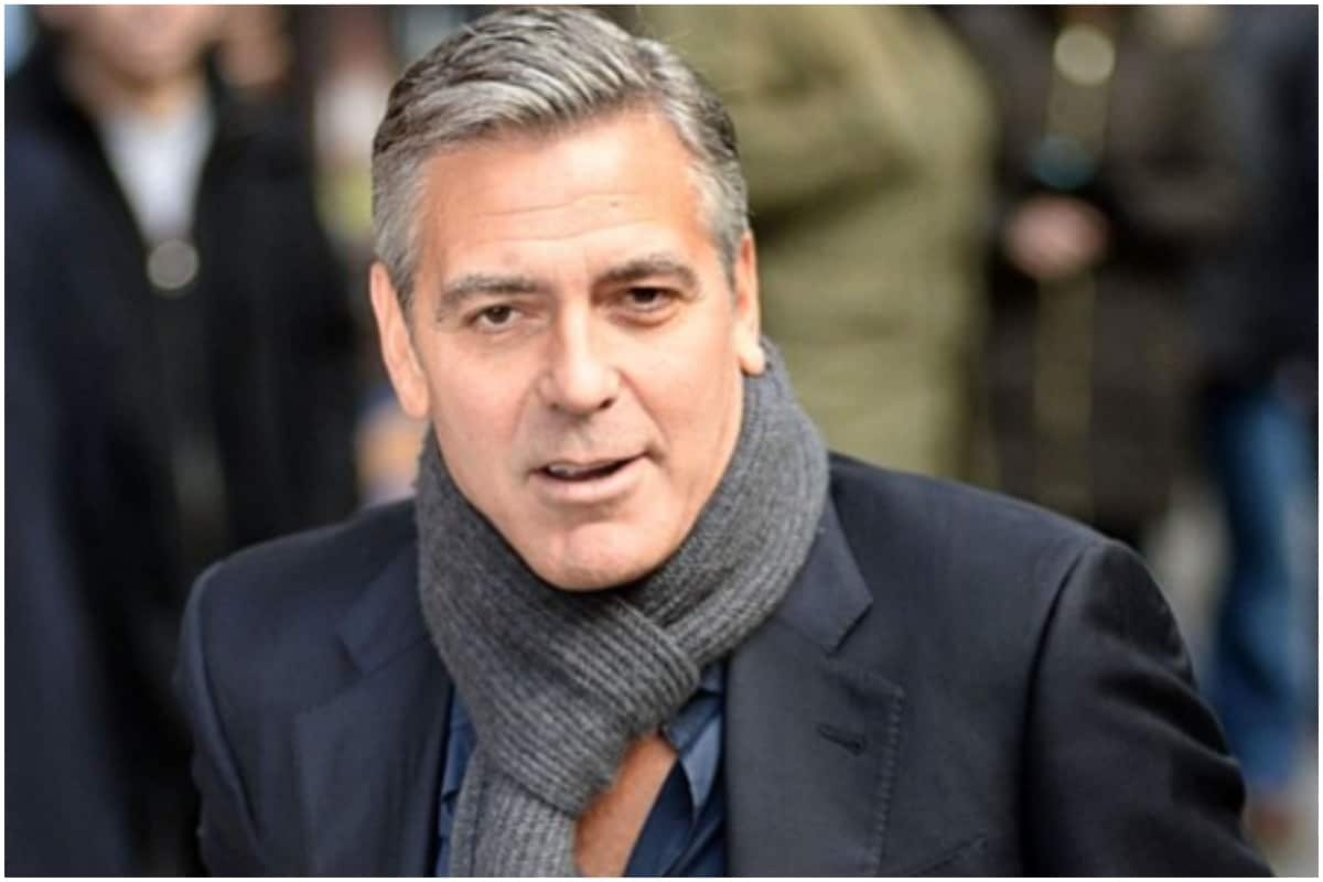 George Clooney Says He S Cut His Hair For 25 Years It Takes 2 Minutes