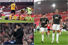 Premier League: Sunday Wrap - Arsenal Struggle, Clash Of Heads Raises Concerns, Cavani Fires for Man Utd